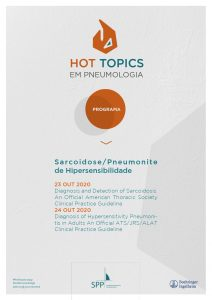 Hot Topics em Pneumologia – Sarcoidose e Pneumonite de Hipersensibilidade